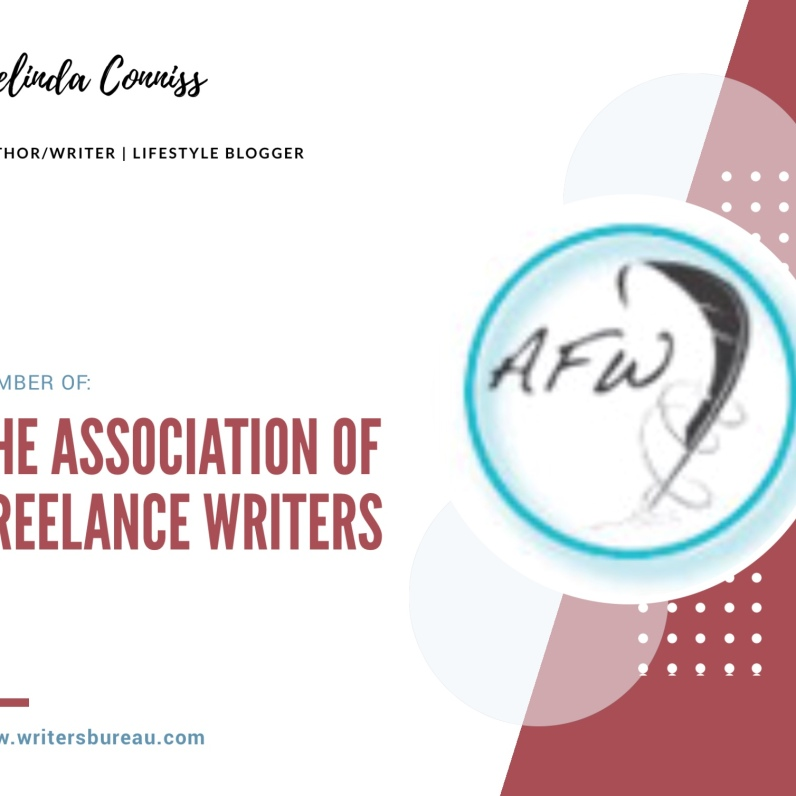 Member of: The Association of Freelance Writers